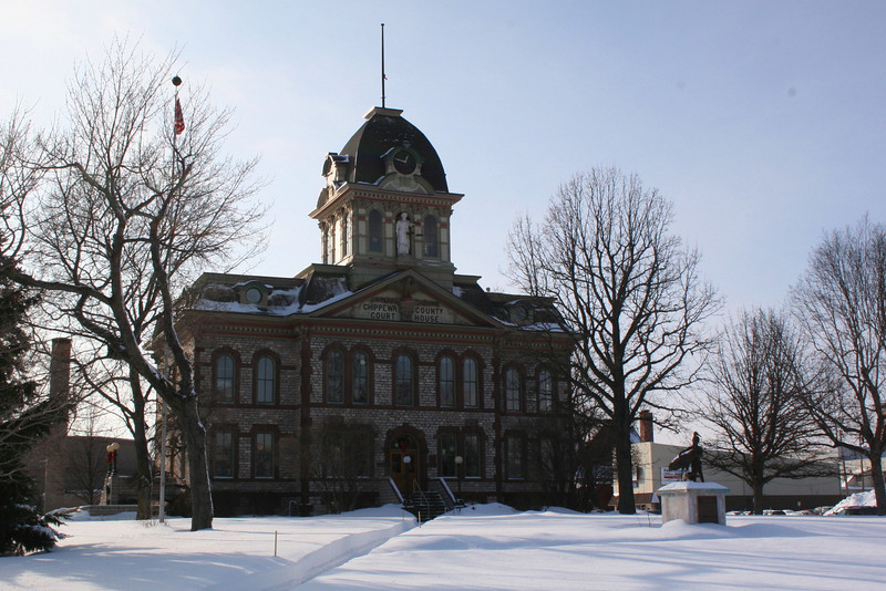 Chippewa County Courthouse (ca. 1877)