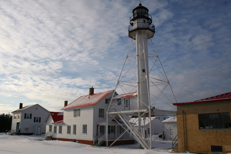 Whitefish Point Lighthouse (ca. 1870)