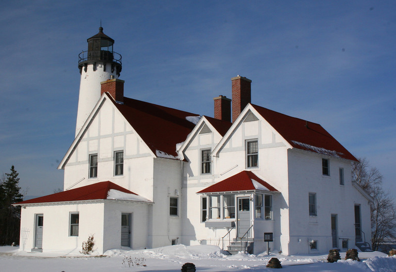 Point Iroquois Lighthouse (ca. 1870)
