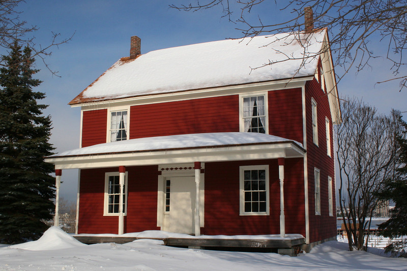 Bishop Baraga House (ca. 1860)