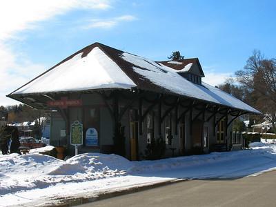Grand Rapids & Indiana Rail Depot (ca. 1889)