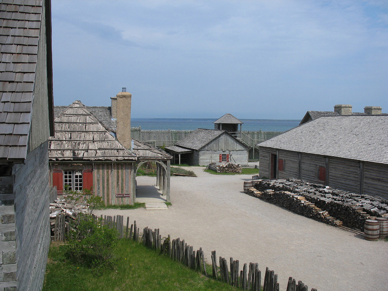 Fort Michilimackinac (ca.1715)