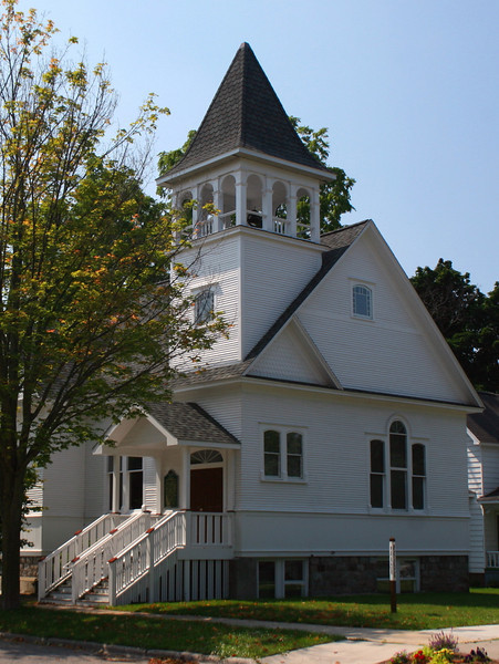 Friend's Meetinghouse (ca. 1894) - Traverse City