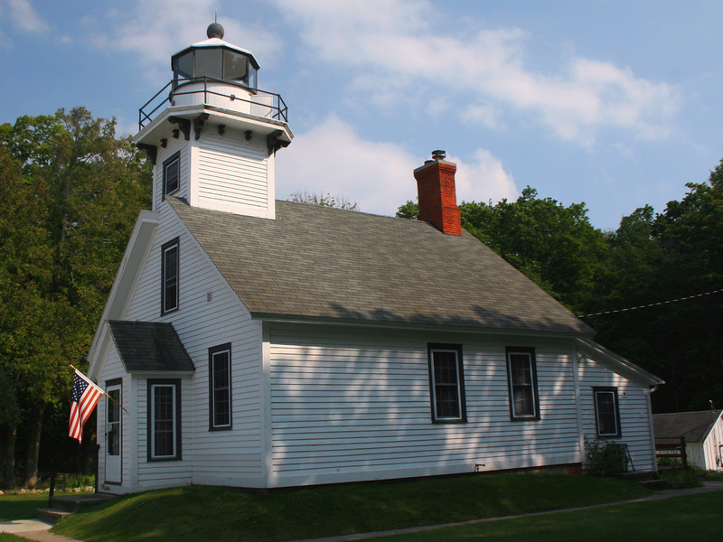 Mission Point Lighthouse (ca. 1870)