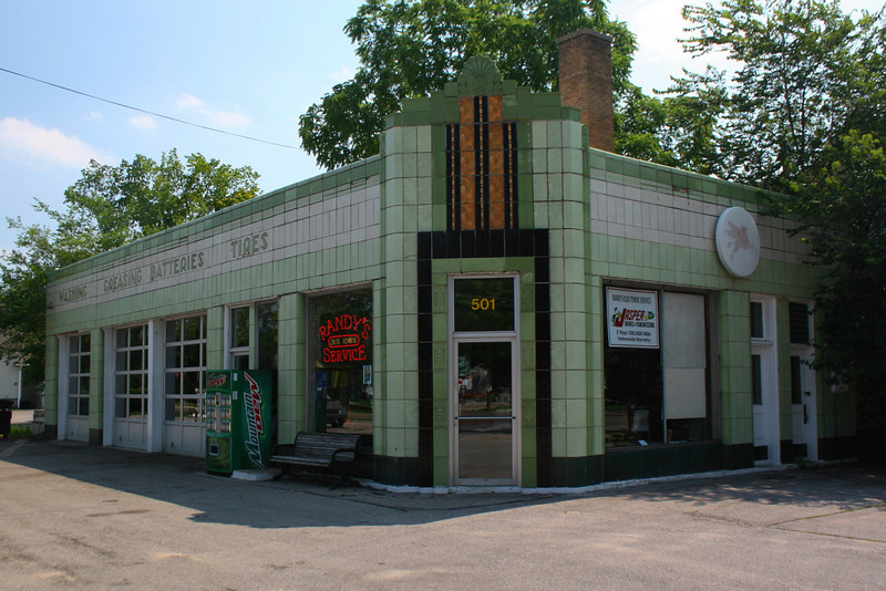 Mac's Super Service Station (ca. 1935) - Traverse City
