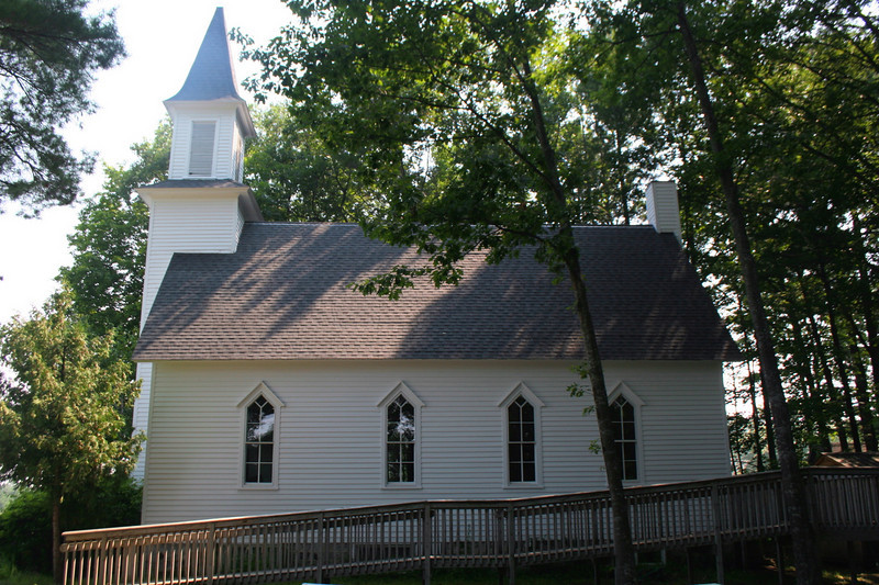 Old Mission Congregational Church (ca. 1891) - Old Mission