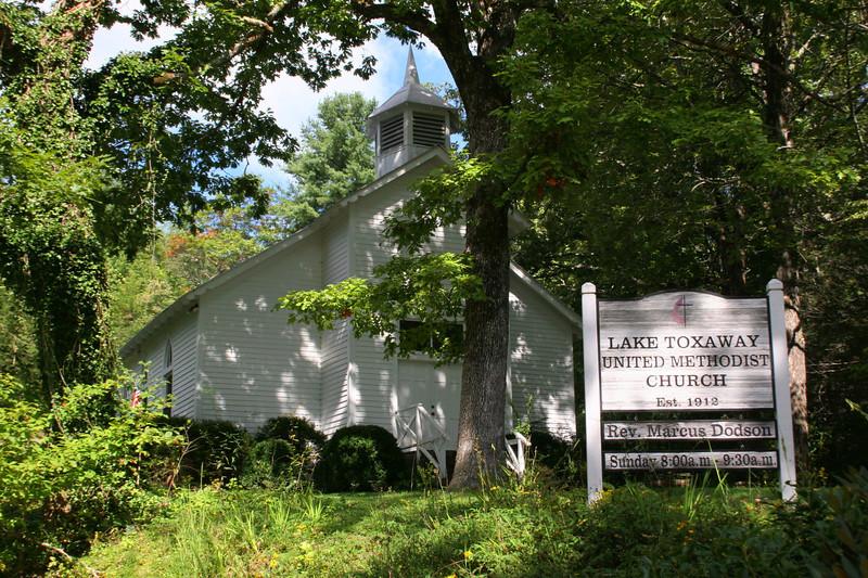 Lake Toxaway Methodist Church (ca. 1900)