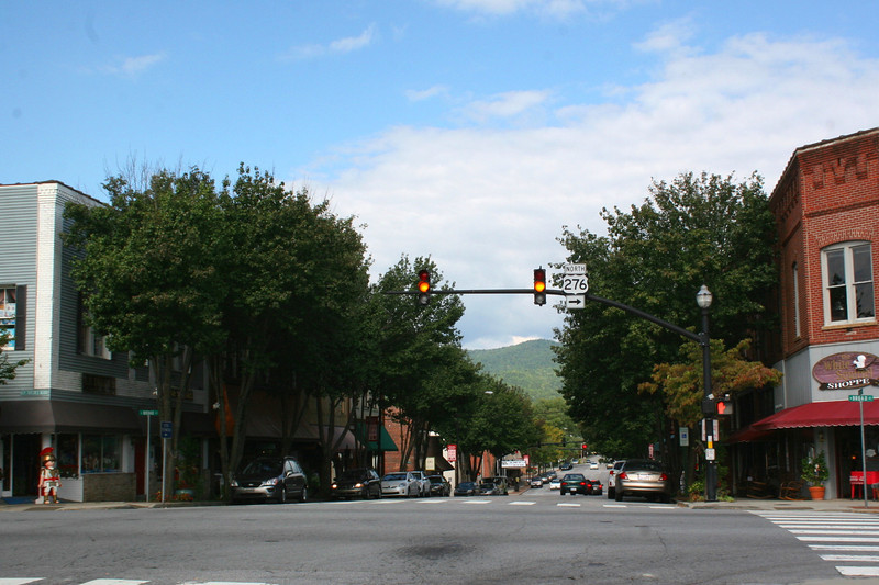 Main Street Historic District - Brevard