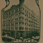 The Old Quarters of the Citizens National Bank. Corner 3rd and Spring Streets