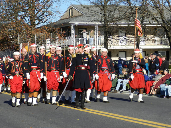 Zouaves<br /> New York Fire Men known for their unusual uniforms in the Civil War
