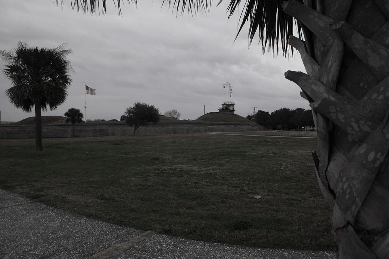 Fort Moultrie from the beach walkway...
