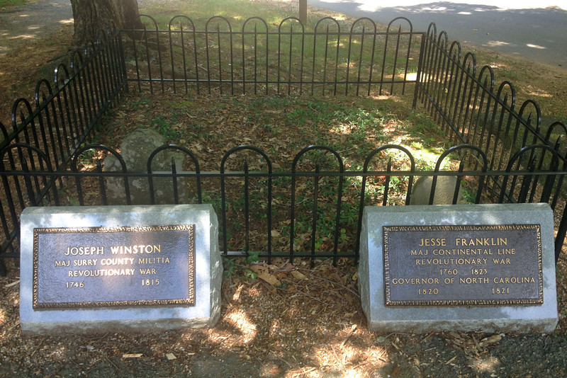 Winston and Franklin Gravestones