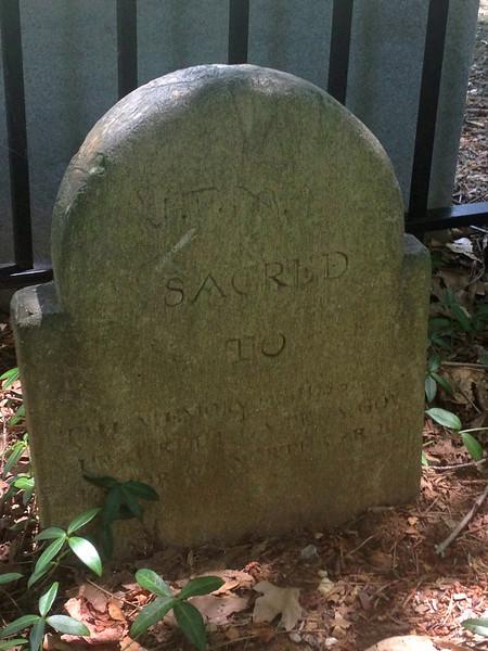 Winston and Franklin Gravestones