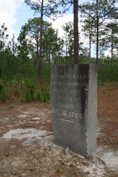Baron DeKalb Monument
