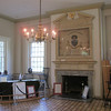 Carpenter's Hall (c.1770-74) - The interior of Carpenters Hall has, along with a small gift shop, a number of period artifacts.  In this shot are a number of origianl chairs used by the Continental Congress as well as a flag which dates back to the period of the Constitutional Convention...