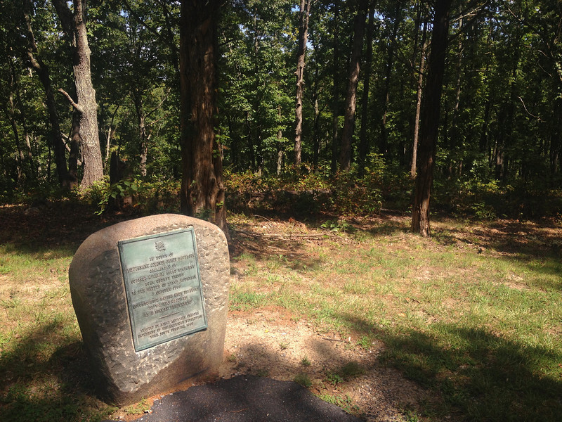 Battlefield Trail - Hawthorn Monument