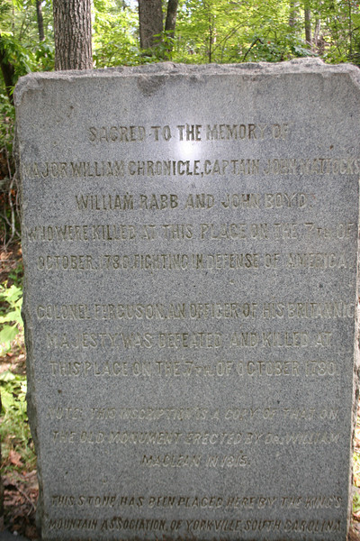 William Chronicle Marker