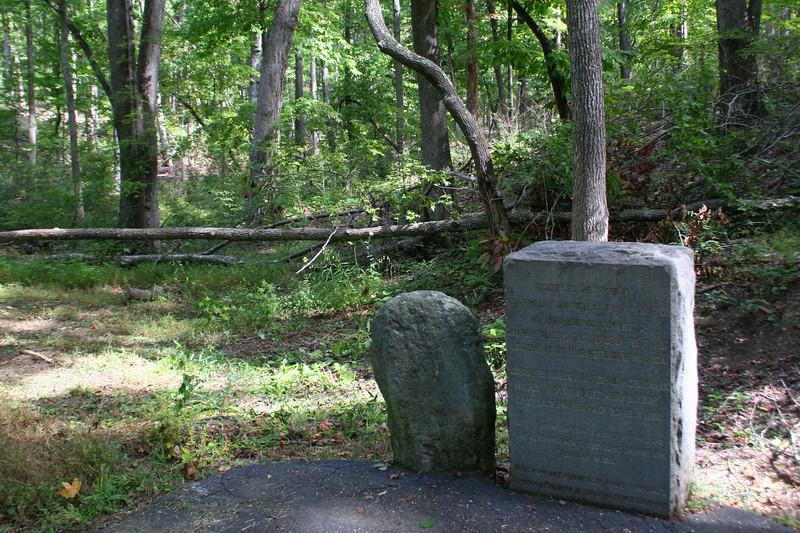Battlefield Trail - William Chronicle Marker