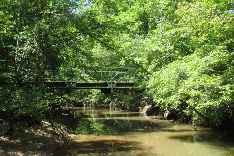 Finishing my tour of the Battle of Musgrove Mill along the now-peaceful Enoree River...