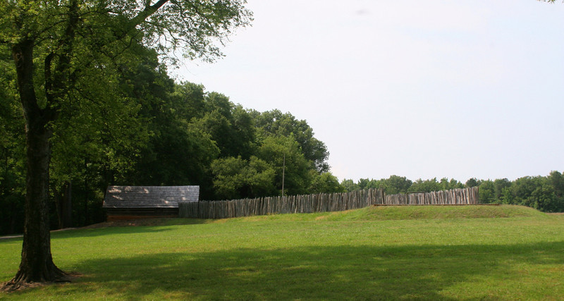 Approaching the Stockade Fort...