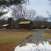 A short, paved walk leads out back from the visitor center to Fort Watauga. The grounds which the 1,000-strong Overmountain Men gathered on in 1780 are to the left of the fort...
