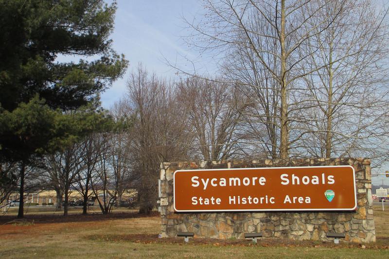 Sycamore Shoals State Historic Area