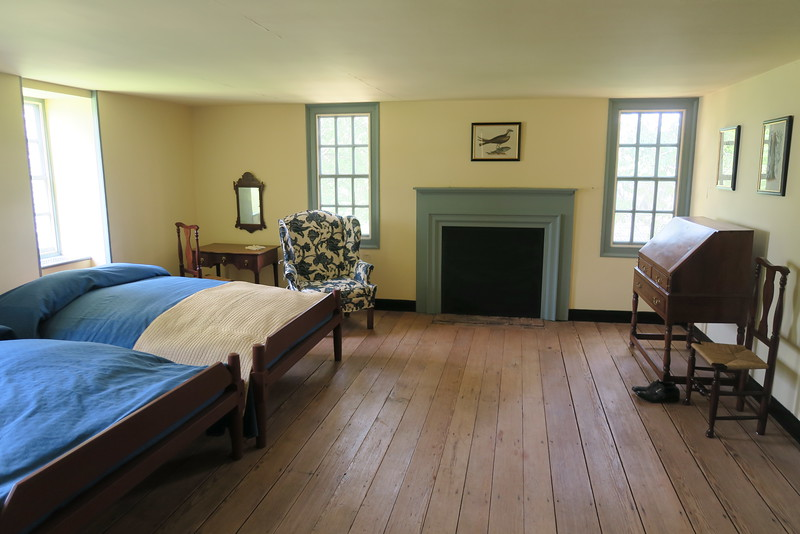 Moore House -- Upstairs Bedrooms -- October 18, 1781