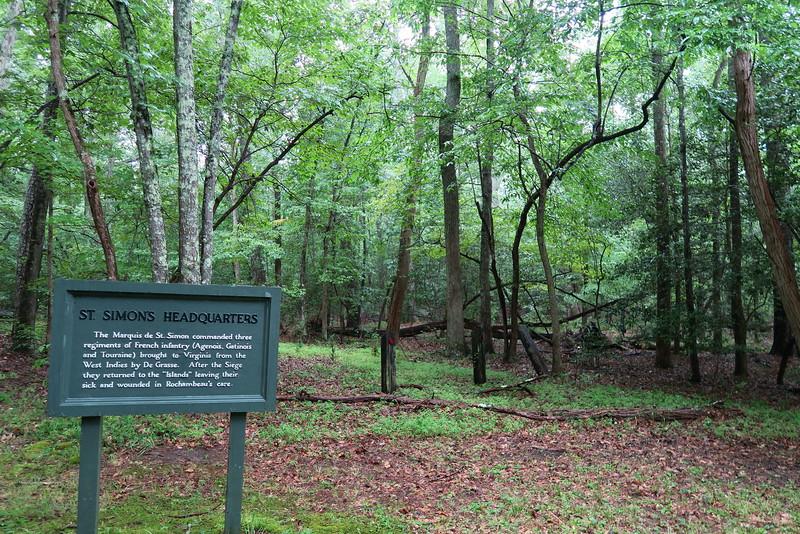 St. Simon's Headquarters -- September 28, 1781