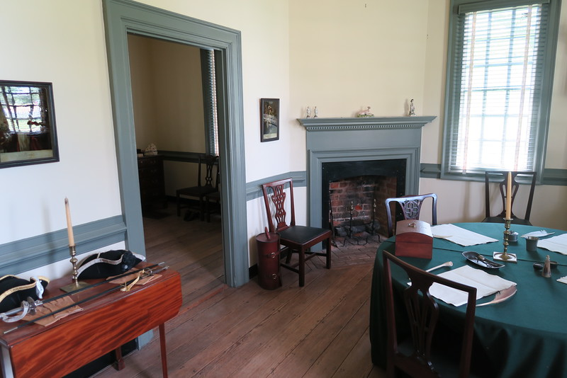 Moore House -- The Surrender Room -- October 18, 1781