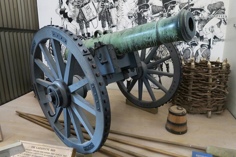"""Yorktown Visitor Center - """"The Lafayette Gun"""""""