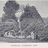 Blackburn Park Waterfall 1900