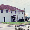 PAUL GALL LEGION POST - Riverdale, IL - 1970's<br /> Paul was killed in action in World War I--a statue of him stands in front of the Dolton, IL Municipal Center.  This building was previously the Redwoods restaurant.