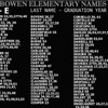 BOWEN ELEMENTARY - Riverdale, IL - Students A - E<br /> Pictures are in annual order.  Not all students are listed.