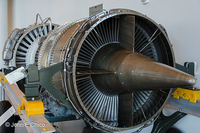 One of the engines from Air Force 1.