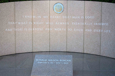 Thank you for your service to our country, Ronald Wilson Reagan.
