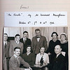 """The first production by The Rossendale Players in 1936<br />      """"THE CIRCLE"""" by Somerset Maugham<br /> in the Victoria Hall (Conservative Club) Waterfoot<br />    There are Press reports of this opening and some other group photographs."""
