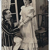 "Harry Lomax (John Worthing) and Janey Crowe (Hon.Gwendoline Fairfax)   in ""The Importance of Being Earnest"" in Feb.1940"