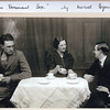 """THE DOMINANT SEX"" by Michael Egan<br />     the 8th production in March 1938<br /> Fred Ridehalgh,Haidee W.Collinge,John Stansfield<br />   produced by Evelyn Parker<br /> thyis is the only photo of this production"