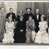 """THE IMPORTANCE OF BEING EARNEST"" by Oscar Wilde<br />    the 13th production in February 1940. <br />  (Back row-Ken Miller,T.H.Cooke,Freda Jones (producer),<br />   F.Heyworth,F.Aspin, Harry Lomax )<br />  (Front row- Jenny Longworth,Phoebe Burslem,Mary Frost,<br />                       Janey Crowe)"