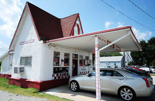 Globe/T. Rob Brown<br /> The Dairy King in Commerce, Okla.