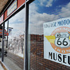 Globe/T. Rob Brown<br /> The Route 66 Motorcycle Museum: Vintage Iron in downtown Miami, Okla., on Route 66.