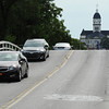 Globe/T. Rob Brown<br /> Motorists travel over Whee Bridge Thursday morning, July 25, 2013, in Carthage.