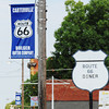 Globe/T. Rob Brown<br /> Downtown Carterville on Route 66.