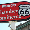 Globe/T. Rob Brown<br /> Route 66 in downtown Webb City.