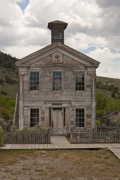 First Montana School House-1824