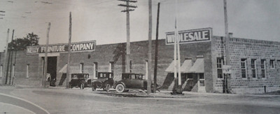 The Kelly Furniture Company in 1926. Courtesy of the Telfair Stockton & Company industrial advertisement.