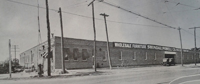 The Swindal-Powell Company in 1926. Courtesy of the Telfair Stockton & Company industrial advertisement.