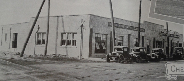 The Chevrolet Motor Company in 1926. Courtesy of the Telfair Stockton & Company industrial advertisement.