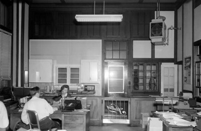 Workers in the office at the Huttig Sash and Door Company factory in 1956. Courtesy of the State Archives of Florida, Florida Memory, http://floridamemory.com/items/show/167287