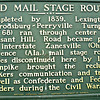 OLD MAIL STAGE ROUTE